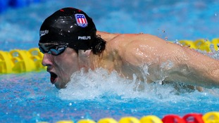 American swimmer Michael Phelps is looking to secure seven gold medals at the 2012 Games.