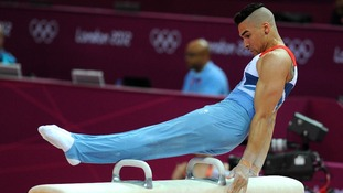 Louis Smith will begin his campaign for gold in the gymnastics.
