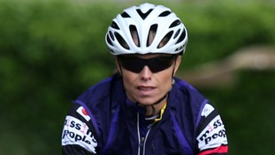 Kate McCann begins her 500-mile charity cycle challenge