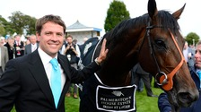 Michael Owen with Brown Panther