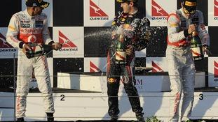 Jenson Button wins Australian Grand Prix