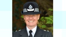 Chief Superintendent Caroline Peters has been awarded an MBE