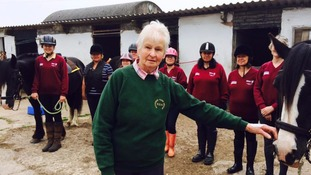 Anita Parker realised the therapeutic benefits of riding for people with disabilities