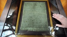 One of the remaining four copies of the 1215 Magna Carta.