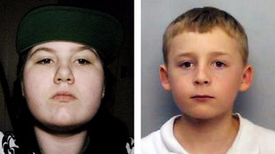 Amy Dilworth, 15, and Kieran Sampson, 12, were last seen at 9.20pm on Saturday.