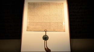 The Magna Carta.