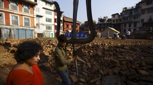 Nepal reopens heritage sites to tourists for first time after devastating earthquakes