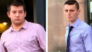 The two men from Nottinghamshire are behind bars