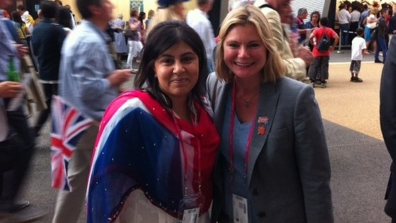 London Olympics: Conservative Co-Chairman Baroness Warsi and the Transport Secretary Justine Greening have tickets to the Opening Ceremony
