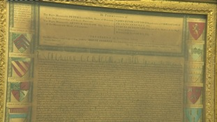 Copy of Magna Carta