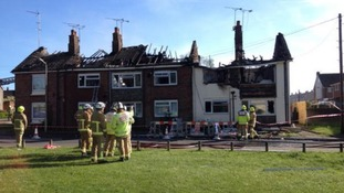 Residents lose their homes after explosion in Ashford