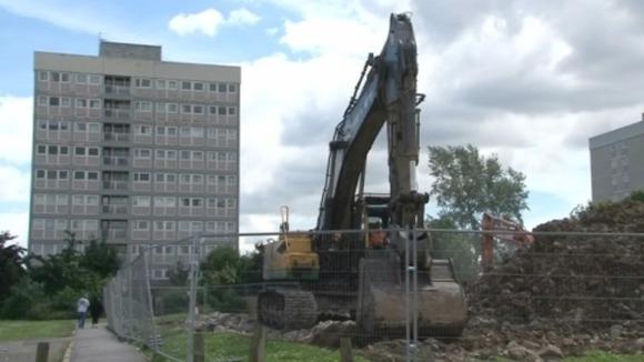 Orchard Park Flats Demolished Calendar Itv News