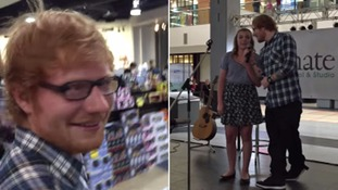 Sydney Bourbeau was singing Thinking Out Loud to a meagre audience in a shopping centre in Alberta when Ed Sheeran jumped onstage