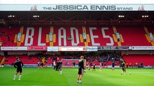 Jessica Ennis-Hill's name has been dropped from the Bramall Lane Stand