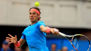 Rafa Nadal is out of form