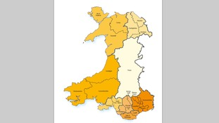 Why does the Welsh council map keep changing?