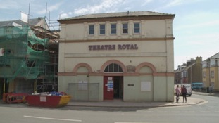 The Theatre Royal.