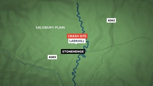 The accident happened at Larkhill near Stonehenge