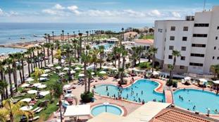 The Anastasia Beach Complex hotel in Protaras.