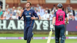 Reece Topley has been called up for the first time.