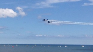 Build up to Sunderland Airshow