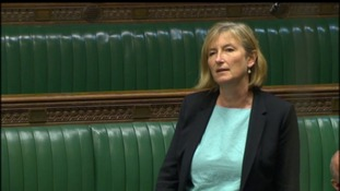 Sarah Wollaston speaking in parliament