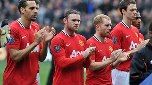 A minute's applause before the Manchester United Premier League tie against Wolverhampton Wanderers