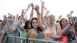 Revellers at Global Gathering