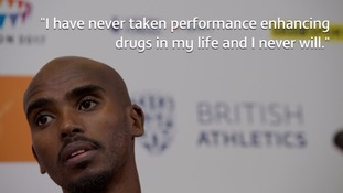 Mo Farah won two gold medals at the London Olympics 2012.
