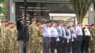 Armed Forces Day 2014, in Carlisle city centre.