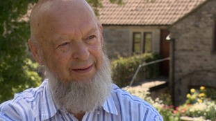 Michael Eavis at Worthy Farm