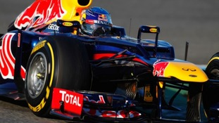 Red Bull Racing F1 car