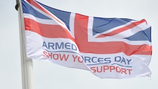 The Armed Forces Day flag