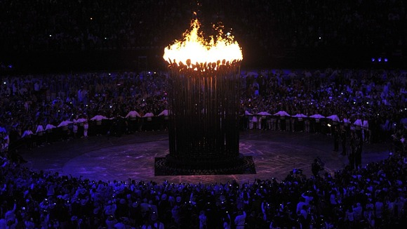 The Olympic Cauldron was designed by Thomas Heatherwick