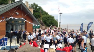 Portishead's new lifeboat station officially opens
