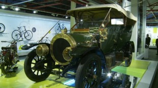 The museum boasts a range of classic cars