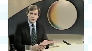 One of our set changes over the years...recognise the presenter ?