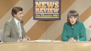 Bob Warman on one of many different news programme sets over the years