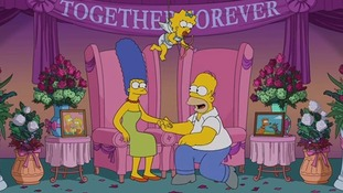 The Simpsons issue 'official' denial that Homer and Marge are to divorce