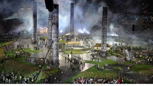 Britain's industrial age at the Opening Ceremony