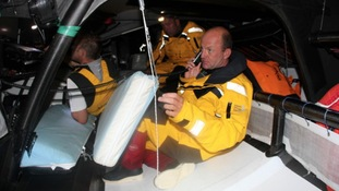 Ian Walker, Azzam skipper on phone
