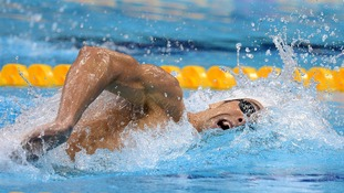 USA's Michael Phelps during his Men's 400m Individual Medley Heat