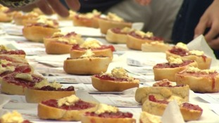 Hundreds take part in Largest Cream Tea World Record attempt