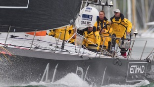 Ian Walker from the UK at the helm - Auckland
