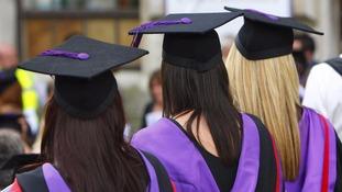 New graduates face £30,000 of debt
