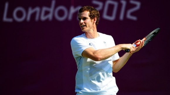 Wimbledon runner-up Andy Murray