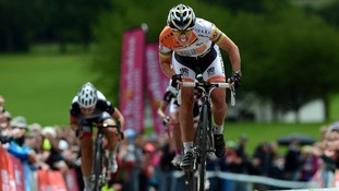 Nicole Cooke the current Olympic Womens Road Race Champion