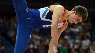 Team GB gymnast Max Whitlock