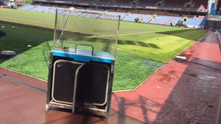 Burnley turnstile goes up for charity auction
