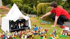 Legoland Windsor has unveiled its take on the famous festival